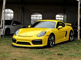 porsche yellow porsche cayman gt4s at radnor hunt mind over motor