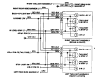 toyota corolla electrical system and wire harness diagram 90