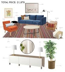 designing a budget living room emily henderson