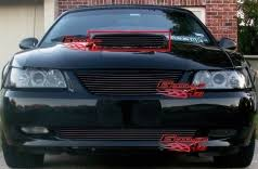 1999 mustang black 1999 ford mustang front grilles page 1 duraflex kits