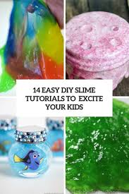 14 easy diy slime tutorials to excite your kids shelterness