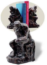 Barnes Nob Rodin U0027s Thinker Bookends Set Of 2 9780840030184 Item Barnes