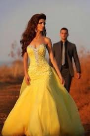 yellow dresses for weddings silver 100 colorful wedding dresses for the non traditional
