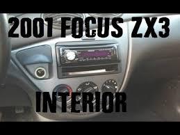 2001 Ford Focus Zx3 Interior 2001 Ford Focus Zx3 Interior 1 Youtube