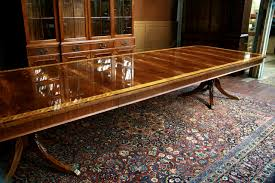 Large Dining Table Fascinating Extra Large Dining Room Tables Also And Wide Mahogany