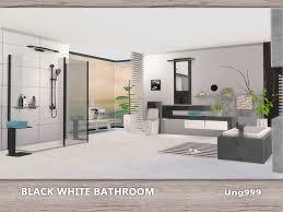 Modern Bathroom Set Ung999 S Black White Bathroom