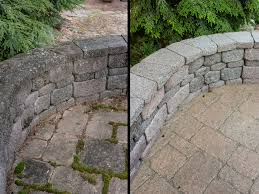 Moss Cleaner For Patios Get Rid Of Patio Moss The Paver Savers Northampton Pa