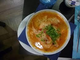 cuisine queue de lotte queue de lotte riz crevettes coriandre picture of vinhas d