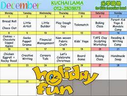 december 2014 school programs in the klang valley
