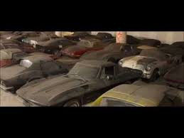 Vintage Cars Found In Barn In Portugal 36 Corvettes Found In Underground Building Youtube