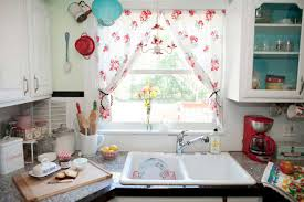 install cottage style kitchen curtains u2014 railing stairs and