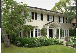 Home Exterior Design Advice Georgian And Federal Style Exteriors Behr