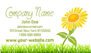 Massage Business Cards Examples Landscaping Business Cards Lawn Care Busines Cards Business Cards