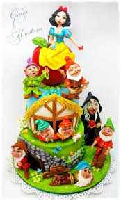 snow white and the seven dwarfs cake by galia hristova u2013 art