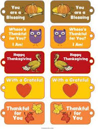 free printable thanksgiving tags search pinteres