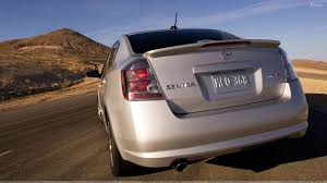 nissan 2008 sentra back pose of 2009 nissan sentra se r near mountains wallpaper