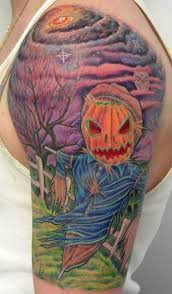 25 evil pumpkin tattoos scary enough
