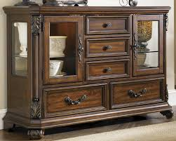 furniture small china hutch narrow credenza buffet server cabinet