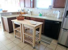 mobile kitchen island table movable island table pipe butcher block rolling kitchen island