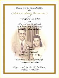 50th wedding anniversary program 9 50th wedding anniversary party invitations sleinvitationss123