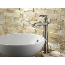 bed u0026 bath amazing vessel sink with waterfall faucet and stacked