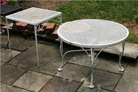 vintage woodard wrought iron patio furniture u2014 all home design