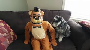 five nights at freddy s halloween costume party city fnaf freddy halloween costume youtube