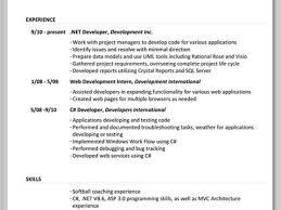 sample resume formats standard resume format resume format and