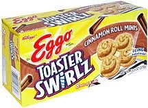 Toaster Waffles Kellogg U0027s Eggo Toaster Swirlz Cinnamon Roll Flavored Mini Waffles