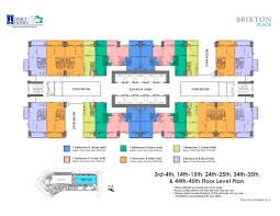 Real Floor Plans by Brixton Place Kapitolyo Pasig Dmci Homes Online