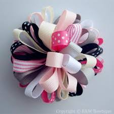 back to school hair bows m2m loopy hair bows r w bowtique