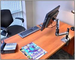 Lx Hd Sit Stand Desk Mount Lcd Arm Ergotron Sit Stand Desk Mount System For Workfit Lx Workstation