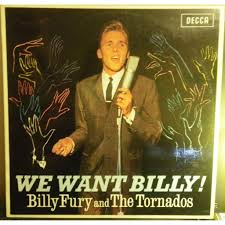 we want billy by billy fury and the tornados lp with discotica