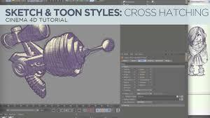 sketch u0026 toon style 4 scribbles u0026 cross hatching tutorial on vimeo