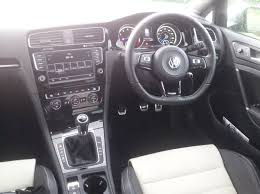 white volkswagen inside review 2014 vw golf r grunt and grip will go far hooniverse