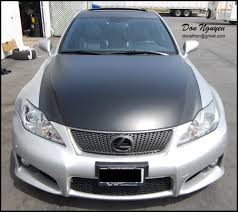 lexus forum dortmund don nguyen vinyl roof wrapping services stickers graphics