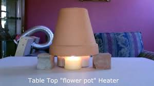 candle powered space heater diy air heater 190f