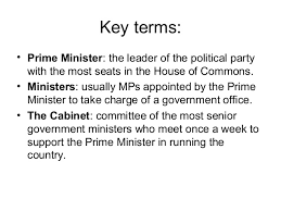 The Cabinet In Government The Main Roles In Government