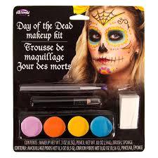halloween day of the dead make up kit fancy dress uk