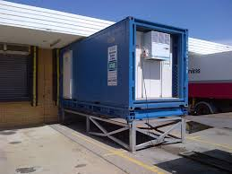 refrigerated shipping containers modified to suit irs refrigeration