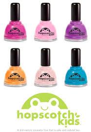 hopscotch kids non toxic nail polish