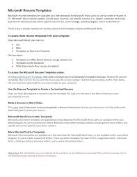 basic resume templates 2013 template check template microsoft word
