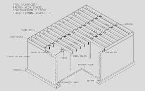 floor framing isometric created assignment building plans online