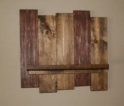 Distressed Wood Shelves by Rustic Wood Wall Shelf Reclaimed Wood Shelf Distressed Pallet