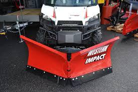 western impact utv v plow aj u0027s truck u0026 trailer center