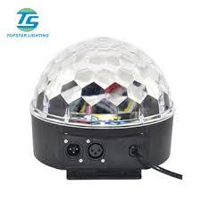 led disco ball light dmx crystal led disco ball light led magic light with lcd screen
