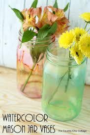 jar vases watercolor jar vases do more for less