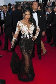 com buy sheer white and black lace celebrity red carpet