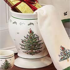 spode tree bath accessories
