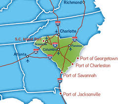 interstate 26 map carolina industrial properties the carolina advantage